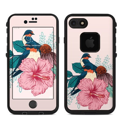 Lifeproof iPhone 7 Fre Case Skin - Barn Swallows