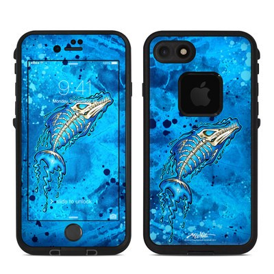 Lifeproof iPhone 7 Fre Case Skin - Barracuda Bones