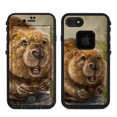 Lifeproof iPhone 7 Fre Case Skin - Beaver Totem