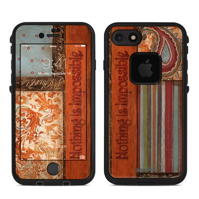 Lifeproof iPhone 7 Fre Case Skin - Be Inspired