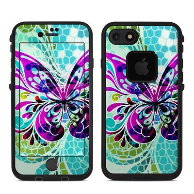Lifeproof iPhone 7 Fre Case Skin - Butterfly Glass