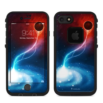 Lifeproof iPhone 7 Fre Case Skin - Black Hole