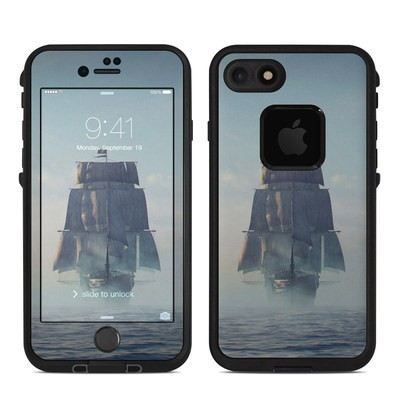 Lifeproof iPhone 7-8 Fre Case Skin - Black Sails