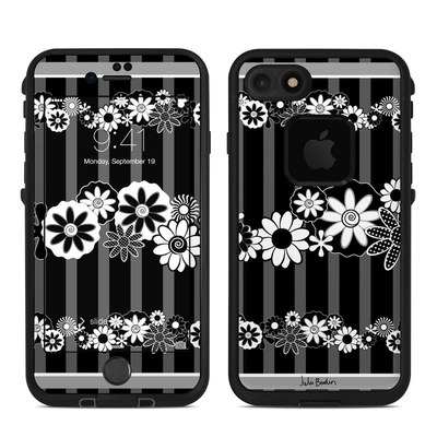 Lifeproof iPhone 7 Fre Case Skin - Black Retro