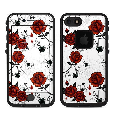 Lifeproof iPhone 7 Fre Case Skin - Black Widows