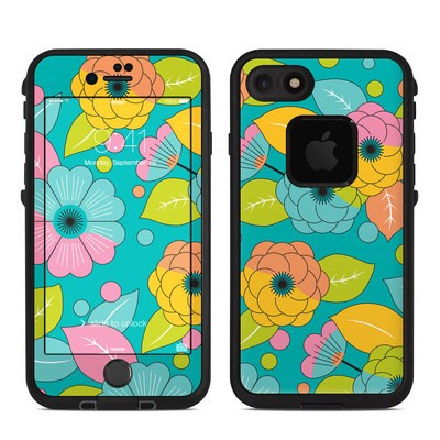 Lifeproof iPhone 7-8 Fre Case Skin - Blossoms