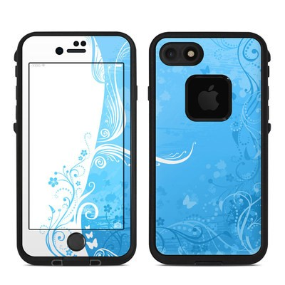 Lifeproof iPhone 7 Fre Case Skin - Blue Crush