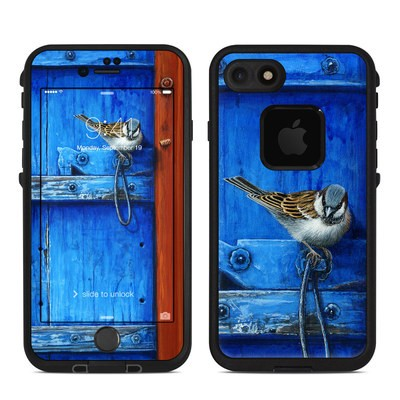 Lifeproof iPhone 7-8 Fre Case Skin - Blue Door