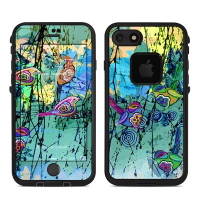Lifeproof iPhone 7-8 Fre Case Skin - Blue Evening