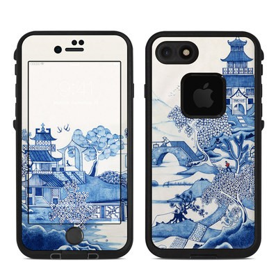 Lifeproof iPhone 7 Fre Case Skin - Blue Willow