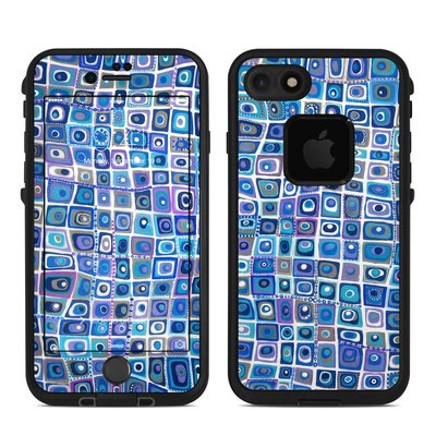 Lifeproof iPhone 7 Fre Case Skin - Blue Monday