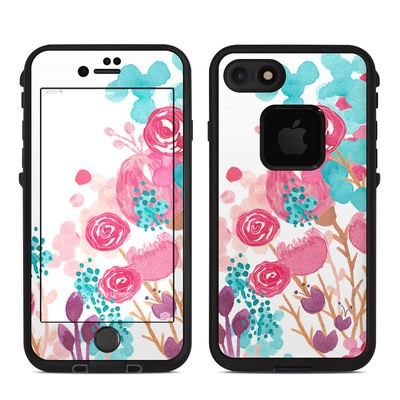 Lifeproof iPhone 7 Fre Case Skin - Blush Blossoms