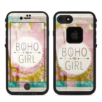 Lifeproof iPhone 7 Fre Case Skin - Boho Girl