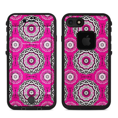 Lifeproof iPhone 7 Fre Case Skin - Boho Girl Medallions