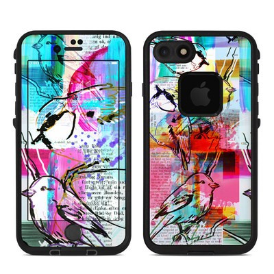 Lifeproof iPhone 7-8 Fre Case Skin - Book Birds