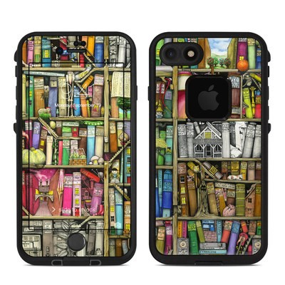 Lifeproof iPhone 7 Fre Case Skin - Bookshelf
