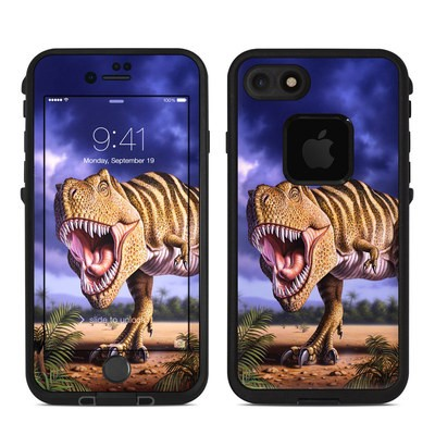 Lifeproof iPhone 7-8 Fre Case Skin - Brown Rex
