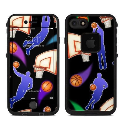 Lifeproof iPhone 7-8 Fre Case Skin - Basketball Swish