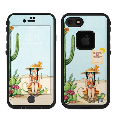 Lifeproof iPhone 7 Fre Case Skin - Cactus