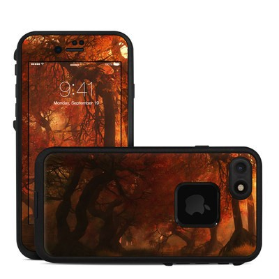 Lifeproof iPhone 7 Fre Case Skin - Canopy Creek Autumn
