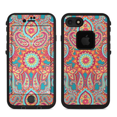 Lifeproof iPhone 7 Fre Case Skin - Carnival Paisley
