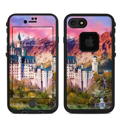 Lifeproof iPhone 7 Fre Case Skin - Castle Majesty
