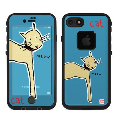 Lifeproof iPhone 7 Fre Case Skin - Cat