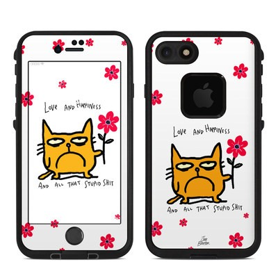 Lifeproof iPhone 7 Fre Case Skin - Catwad Happy