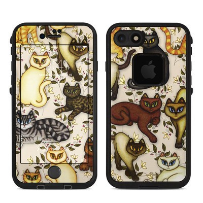 Lifeproof iPhone 7 Fre Case Skin - Cats