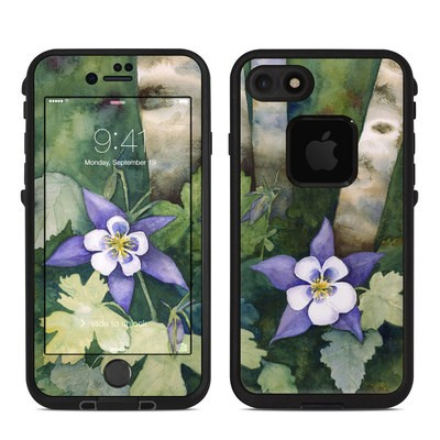 Lifeproof iPhone 7 Fre Case Skin - Colorado Columbines