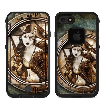Lifeproof iPhone 7 Fre Case Skin - Corvus Corsair