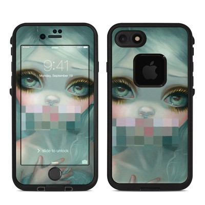 Lifeproof iPhone 7 Fre Case Skin - Censored Smile