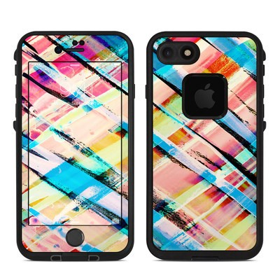 Lifeproof iPhone 7 Fre Case Skin - Check Stripe