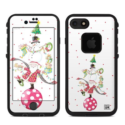 Lifeproof iPhone 7 Fre Case Skin - Christmas Circus