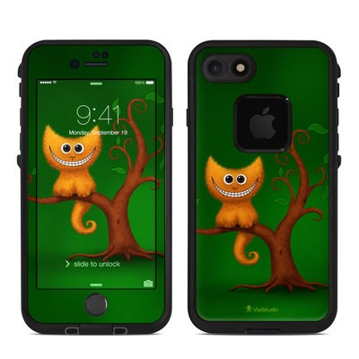 Lifeproof iPhone 7 Fre Case Skin - Cheshire Kitten