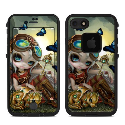 Lifeproof iPhone 7 Fre Case Skin - Clockwork Dragonling