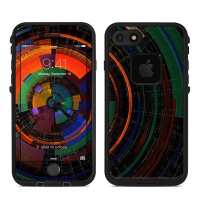 Lifeproof iPhone 7 Fre Case Skin - Color Wheel