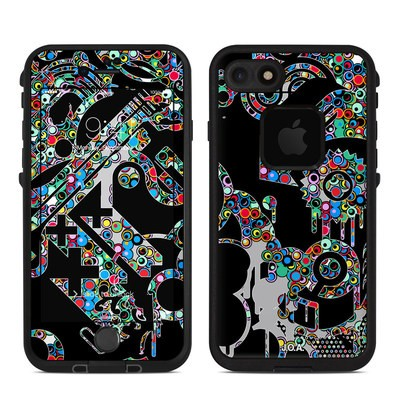 Lifeproof iPhone 7 Fre Case Skin - Circle Madness