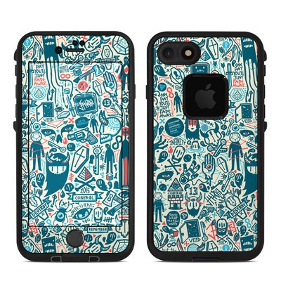 Lifeproof iPhone 7 Fre Case Skin - Committee