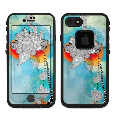 Lifeproof iPhone 7 Fre Case Skin - Coral