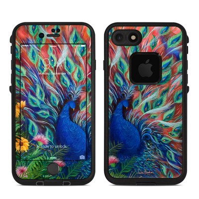 Lifeproof iPhone 7 Fre Case Skin - Coral Peacock