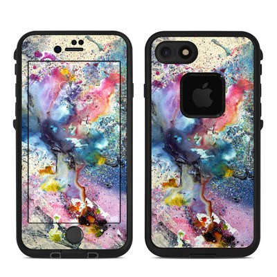 Lifeproof iPhone 7 Fre Case Skin - Cosmic Flower