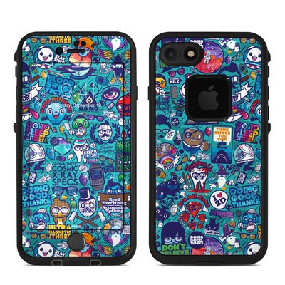 Lifeproof iPhone 7 Fre Case Skin - Cosmic Ray
