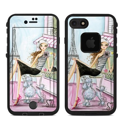 Lifeproof iPhone 7 Fre Case Skin - Cafe Paris