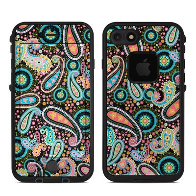 Lifeproof iPhone 7 Fre Case Skin - Crazy Daisy Paisley