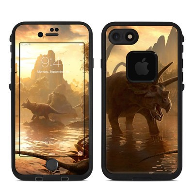 Lifeproof iPhone 7 Fre Case Skin - Cretaceous Sunset