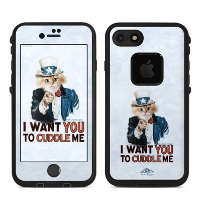 Lifeproof iPhone 7 Fre Case Skin - Cuddle Me