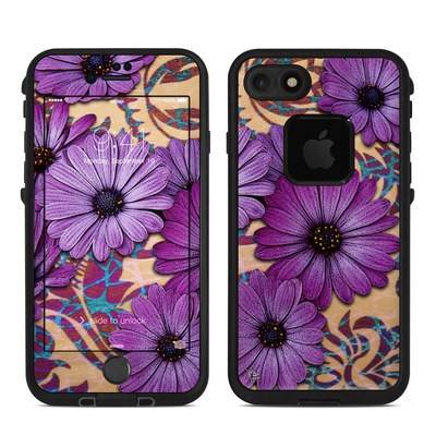 Lifeproof iPhone 7 Fre Case Skin - Daisy Damask