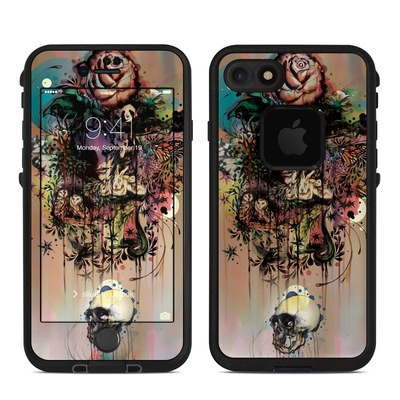 Lifeproof iPhone 7 Fre Case Skin - Doom and Bloom