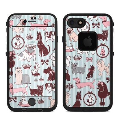 Lifeproof iPhone 7 Fre Case Skin - Doggy Boudoir
